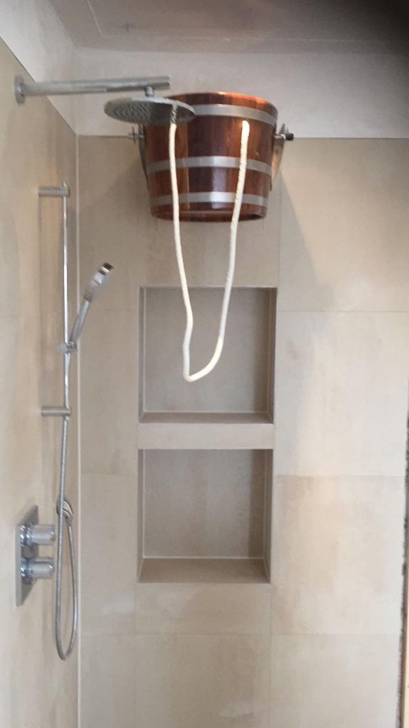 Tegel badkamer project